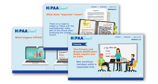 HIPAA Modules